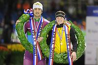 SCHAATSEN: HEERENVEEN: 23-01-2016, IJsstadion Thialf, NK Sprint, ©foto Martin de Jong
