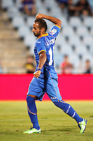 Getafe's  Castro celebrates a goal  during La Liga match.August 23,2013. (ALTERPHOTOS/Victor Blanco)