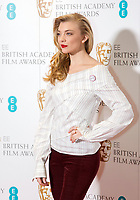 www.acepixs.com<br /> <br /> January 9 2018, London<br /> <br /> Natalie Dormer taking part at The EE British Academy Film Award, BAFTA, nominations announcement at BAFTA on January 9, 2018 in London, England.<br /> <br /> By Line: Famous/ACE Pictures<br /> <br /> <br /> ACE Pictures Inc<br /> Tel: 6467670430<br /> Email: info@acepixs.com<br /> www.acepixs.com