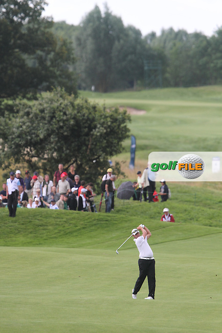 Christian Nilsson (SWE) on the 14th on Day 3 of the Alstom Open de France at Golf National,  Saint-Quentin-En-Yvelines, Paris, France, 7/7/12...(Photo Jenny Matthews/www.golffile.ie)