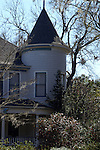 Turrets are a popular feature on Victorian houses.