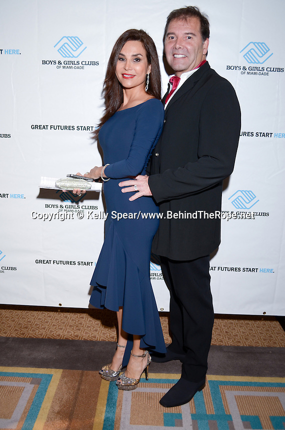 Dr. and Mrs. Mendieta attend The Boys and Girls Club of Miami Wild About Kids 2012 Gala at The Four Seasons, Miami, FL on October 20, 2012