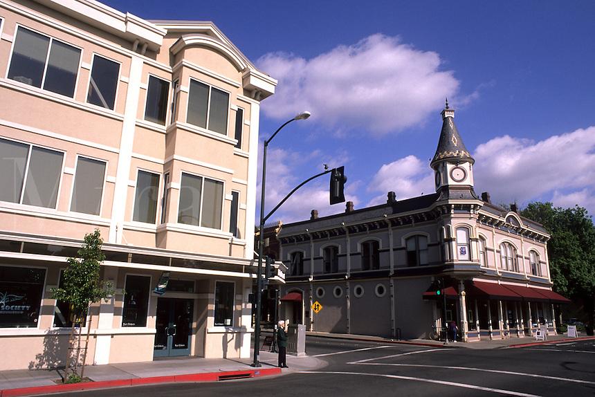 Napa Valley California Wine Country wine vineyards city of Napa Downtown Main Stree
