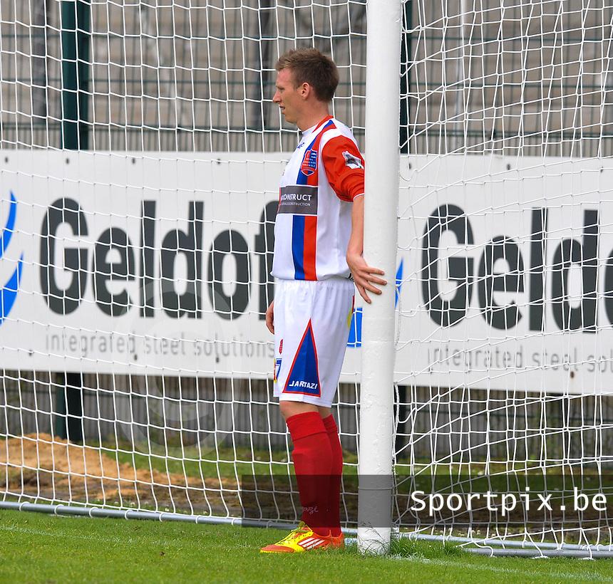 Mouscron Moeskroen Peruwelz : Jeremy Huyghebaert.foto VDB / BART VANDENBROUCKE