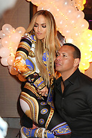 NEW YORK, NY - AUGUST 21: Jennifer Lopez and Alex Rodriguez attend Jennifer Lopez's MTV VMA's Vanguard Award Celebration at Beauty &amp; Essex on August 21, 2018 in New York City. <br /> CAP/MPI/WG<br /> &copy;WG/MPI/Capital Pictures
