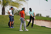 Sebastian Heisele (GER) on the 9th during Round 4 of the Saudi International at the Royal Greens Golf and Country Club, King Abdullah Economic City, Saudi Arabia. 02/02/2020<br /> Picture: Golffile | Thos Caffrey<br /> <br /> <br /> All photo usage must carry mandatory copyright credit (© Golffile | Thos Caffrey)