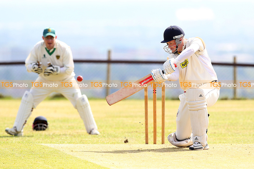 J Jackson in batting action for Havering - Havering-atte-Bower CC vs Writtle CC - Mid-Essex Cricket League - 03/05/14 - MANDATORY CREDIT: Gavin Ellis/TGSPHOTO - Self billing applies where appropriate - 0845 094 6026 - contact@tgsphoto.co.uk - NO UNPAID USE