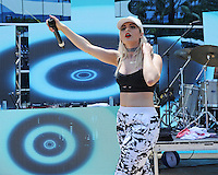 MIAMI BEACH , FL - JULY 23: Bebe Rexha performs during the I Heart Radio Y-100 Mackapoolooza Pool Party at The Fountainbleu on July 23, 2016 in Miami Beach, Florida. Credit: mpi04/MediaPunch
