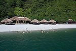 Beach resort in Halong Bay