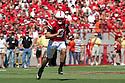 11 September 2010: Nebraska quarterback Taylor Martinez (3) runs for 34 yards in the first quarter against Idaho at Memorial Stadium in Lincoln, Nebraska. Nebraska defeated Idaho 38 to 17.