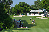 Graeme McDowell (NIR) and Chris Stroud (USA) make their way down 8 during round 3 of the 2019 Charles Schwab Challenge, Colonial Country Club, Ft. Worth, Texas,  USA. 5/25/2019.<br /> Picture: Golffile | Ken Murray<br /> <br /> All photo usage must carry mandatory copyright credit (© Golffile | Ken Murray)