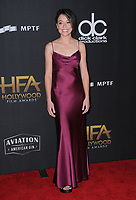 05 November  2017 - Beverly Hills, California - Tatiana Maslany. The 21st Annual &quot;Hollywood Film Awards&quot; held at The Beverly Hilton Hotel in Beverly Hills. <br /> CAP/ADM/BT<br /> &copy;BT/ADM/Capital Pictures