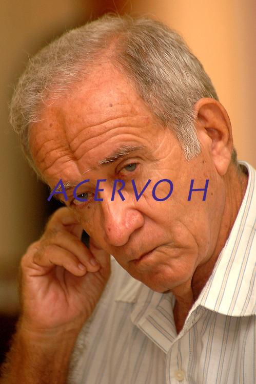 O fazendeiro José Edmundo Ortiz Vergolino, de 70 anos, acusado de ser o mandante da 'Chacina da Fazenda Ubá', na qual oito trabalhadores rurais foram assassinados.O julgamento acontece no Tribunal do Júri do Fórum da Comarca de Belém do Pará.<br /> Em 1985, oito trabalhadores rurais foram assassinados por um grupo de pistoleiros armados, na Fazenda Ubá, localizada no município de São João do Araguaia, próximo a Marabá, no Sudeste Paraense. O crime ocorreu na região do Bico do Papagaio, conhecida como uma das mais violentas do campo brasileiro. <br /> Foto:Lucivaldo Sena/ Interfoto<br /> Data:11/12/2006<br /> Belém-Pará-Brasil