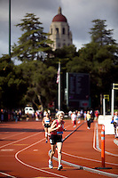 STANFORD, CA - AUGUST 6:  Track and Field, Cobb Track, Stanford University.  THURSDAY, AUGUST 6, 2009. PHOTO BY DON FERIA.