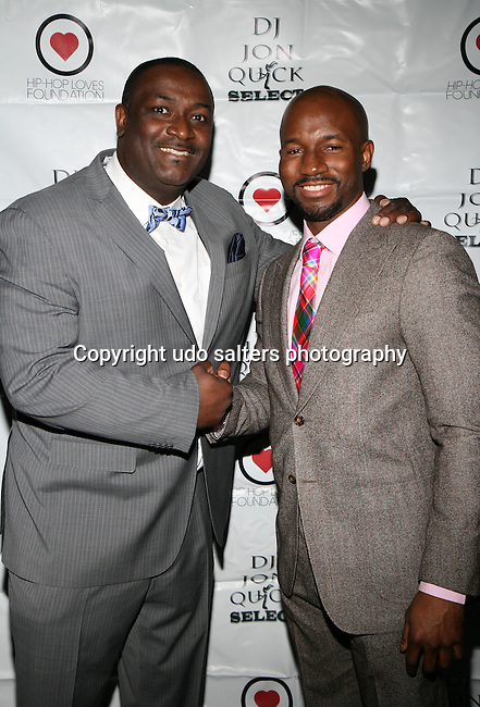 DJ Jon Quick and Darnell Attend The 4th Annual Beauty and the Beat: Heroines of Excellence Awards Honoring Outstanding Women of Color on the Rise Hosted by Wilhelmina and Brand Jordan Model Maria Clifton Held at the Empire Room, NY 3/22/13