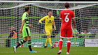 MK Dons goalkeeper, Lee Nicholls during Forest Green Rovers vs MK Dons, Caraboa Cup Football at The New Lawn on 8th August 2017