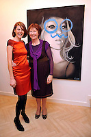 MACBEES ART &amp; FASHION KILLARNEY: Pictured at the Fashion Framed exhibition of art and fashion at MacBees Killarney were from left, Grainne and Mary McBride of MacBees.<br /> Picture by Don MacMonagle