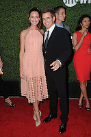 10 August 2016 - West Hollywood, California. Odette Annable, Dermot Mulroney. 2016 CBS, CW, Showtime Summer TCA Party held at Pacific Design Center. Photo Credit: Birdie Thompson/AdMedia