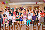 Eileen Brosnan and Orla O'Connor both Castleisland seated centre celebrated their 21st birthdays with their family and friends in the Crown Hotel Castleisland on Saturday night     Copyright Kerry's Eye 2008