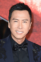 Donnie Yen at the premiere of &quot;xXx-Return of Xander Cage&quot; at the O2 Cineworld, London, UK. <br /> 10th January  2017<br /> Picture: Steve Vas/Featureflash/SilverHub 0208 004 5359 sales@silverhubmedia.com