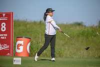 Jane Park (USA) watches her tee shot on 8 during round 1 of  the Volunteers of America LPGA Texas Classic, at the Old American Golf Club in The Colony, Texas, USA. 5/5/2018.<br /> Picture: Golffile | Ken Murray<br /> <br /> <br /> All photo usage must carry mandatory copyright credit (&copy; Golffile | Ken Murray)