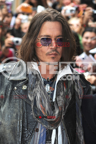 TORONTO, ON - SEPTEMBER 08: Johnny Depp at the 'West Of Memphis' premiere during the 2012 Toronto International Film Festival at the Ryerson Theatre on September 8, 2012 in Toronto, Canada. &copy;&nbsp;mpi01/MediaPunch Inc. /NortePhoto.com<br /> <br /> **CREDITO*OBLIGATORIO** *No*Venta*A*Terceros*<br /> *No*Sale*So*third*...