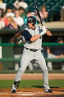 Charlotte center fielder Ryan Sweeney (31) at bat versus Louisville at Louisville Slugger Field in Louisville, KY, Tuesday, June 5, 2007.