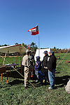 Civil War Reenactment Confederate Camp Soldiers