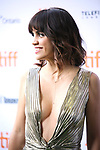 Natalie Morales attends the 'Battle of the Sexesl' premiere during the 2017 Toronto International Film Festival at Ryerson Theatre on September 10, 2017 in Toronto, Canada.