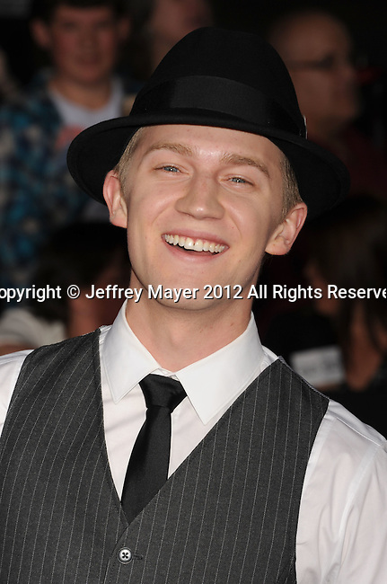 LOS ANGELES, CA - FEBRUARY 22: Jason Dolley attends the 'John Carter' Los Angeles premiere held at the Regal Cinemas L.A. Live on February 22, 2012 in Los Angeles, California.