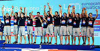 Team CROATIA Bronze Medal <br /> Barcelona 28/07/2018 Piscines Bernat Picornell <br /> Men Medal Ceremony <br /> 33rd LEN European Water Polo Championships - Barcelona 2018 <br /> Photo Andrea Staccioli/Deepbluemedia/Insidefoto
