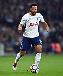 Mousa Dembele of Tottenham Hotspur during the premier league match at the Wembley Stadium, London. Picture date 14th April 2018. Picture credit should read: Robin Parker/Sportimage