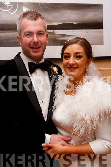 O'Halloran/O'Carroll wedding in Ballygarry House Hotel on New Years Eve.