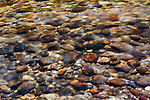 A photo of rocks in a stream in Yosemite National Park, CA.