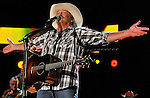 NASHVILLE, TN - JUNE 10:  Alan Jackson performs at LP Field during the 2012 CMA Music Festival on June 10, 2012 in Nashville, Tennessee.  (Photo by Frederick Breedon IV/Getty Images) *** Local Caption *** Alan Jackson