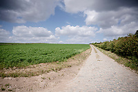 cobbled road near the Bollenberg<br /> <br /> Limburg cycling hotspots<br /> Cycling In Flanders <br /> Flanders Tourist Board<br /> <br /> ©kramon