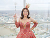 Dick Whittington <br /> publicity pictures <br /> taken from The View From The Shard, London Bridge Quarter, London, Great Britain <br /> press photocall <br /> 17th November 2016 <br /> <br /> <br /> Arlene Phillips as Fairy Bowbells <br /> <br /> <br /> Photograph by Elliott Franks <br /> Image licensed to Elliott Franks Photography Services