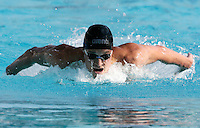 Il polacco Pawel Korzieniowski vince i 200 metri farfalla uomini al trofeo Sette Colli di Roma, 18 giugno 2011..Poland's Pawel Korzieniowski wins the men's 200 meters Butterfly at the Seven Hills trophy in Rome, 18 june 2011..UPDATE IMAGES PRESS/Riccardo De Luca