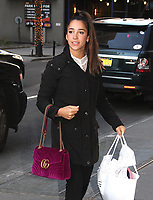 NEW YORK, NY - JANUARY 26: Olympic gymnast Aly Raisman spotted arriving at 'The View'  in New York, New York on January  26, 2018.  Photo Credit: Rainmaker Photo/MediaPunch