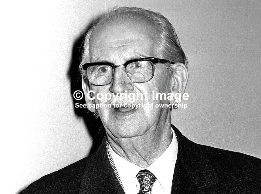 Ben Horan, councillor, Belfast City Council, N Ireland, UK, originally Ulster Unionist but later joined Vanguard Ulster Unionist Progressive Party, VUPP. 197402270117..Copyright Image from Victor Patterson, 54 Dorchester Park, Belfast, United Kingdom, UK...For my Terms and Conditions of Use go to http://www.victorpatterson.com/Victor_Patterson/Terms_%26_Conditions.html