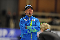 SPEEDSKATING: BERLIN: Sportforum Berlin, 27-29-01-2017, ISU World Cup, Jan van Veen (trainer/coach GER), ©photo Martin de Jong