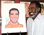 Norm Lewis.attending the celebration for Norm Lewis receiving a Caricature on Sardi's Hall of Fame in New York City on 5/30/2012.attending the celebration for Norm Lewis receiving a Caricature on Sardi's Hall of Fame in New York City on 5/30/2012