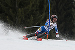10.03.2018, Ofterschwanger Horn, Ofterschwang, GER, Slalom Weltcup in Ofterschwang, im Bild Ksenia Alopina (RUS, #37)<br /> <br /> Foto &copy; nordphoto / Hafner