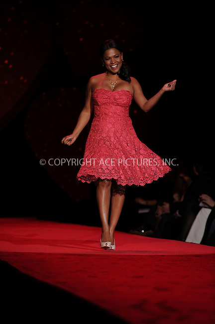 WWW.ACEPIXS.COM . . . . .....February 13, 2009. New York City.....Actress Nia Long, wearing Tracy Reese, walks the runway at the Heart Truth Red Dress Collection during Mercedes Benz Fashion Week held at Bryant Park on February 13, 2009 in New York City...  ....Please byline: Kristin Callahan - ACEPIXS.COM..... *** ***..Ace Pictures, Inc:  ..Philip Vaughan (646) 769 0430..e-mail: info@acepixs.com..web: http://www.acepixs.com