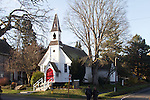 Port Townsend, Historic Saint Paul's Episcopal Church 1862, Puget Sound, Washington State, State Park, Pacific Northwest,