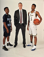NWA Democrat-Gazette/MICHAEL WOODS • @NWAMICHAELW<br /> Newcomer of the Year, Tylor Perry, Springdale Har-Ber, Coach of the Year, Jeremy Price, Springdale High and Player of the Year, Malik Monk, Bentonville Wednesday, March 16, 2016 in Springdale.