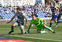Blackburn Rovers' Bradley Dack (left) battles with Reading's Rafael (right) <br /> <br /> Photographer David Horton/CameraSport<br /> <br /> The EFL Sky Bet Championship - Reading v Blackburn Rovers - Saturday 21st September 2019 - Madejski Stadium - Reading<br /> <br /> World Copyright © 2019 CameraSport. All rights reserved. 43 Linden Ave. Countesthorpe. Leicester. England. LE8 5PG - Tel: +44 (0) 116 277 4147 - admin@camerasport.com - www.camerasport.com<br /> <br /> <br /> <br /> <br /> <br /> Photographer David Horton/CameraSport<br /> <br /> The EFL Sky Bet Championship - Reading v Blackburn Rovers - Saturday 21st September 2019 - Madejski Stadium - Reading<br /> <br /> World Copyright © 2019 CameraSport. All rights reserved. 43 Linden Ave. Countesthorpe. Leicester. England. LE8 5PG - Tel: +44 (0) 116 277 4147 - admin@camerasport.com - www.camerasport.com