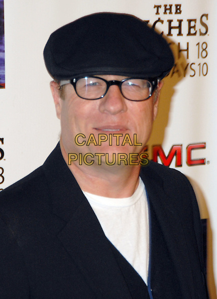 "GREG HENRY.""The Riches"" Season Two Premiere Screening from FX held at the Pacific Design Center, West Hollywood, California, USA,.16 March 2008..portrait headshot black hat cap glasses.CAP/ADM/MG.©Mario Garcia/Admedia/Capital Pictures"