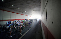 2013 Giro d'Italia.stage 10..peloton out of the dark