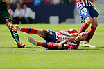 Atletico de Madrid's Jose Maria Gimenez during La Liga match. September 15, 2018. (ALTERPHOTOS/A. Perez Meca)